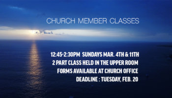 ChurchMemberClasses