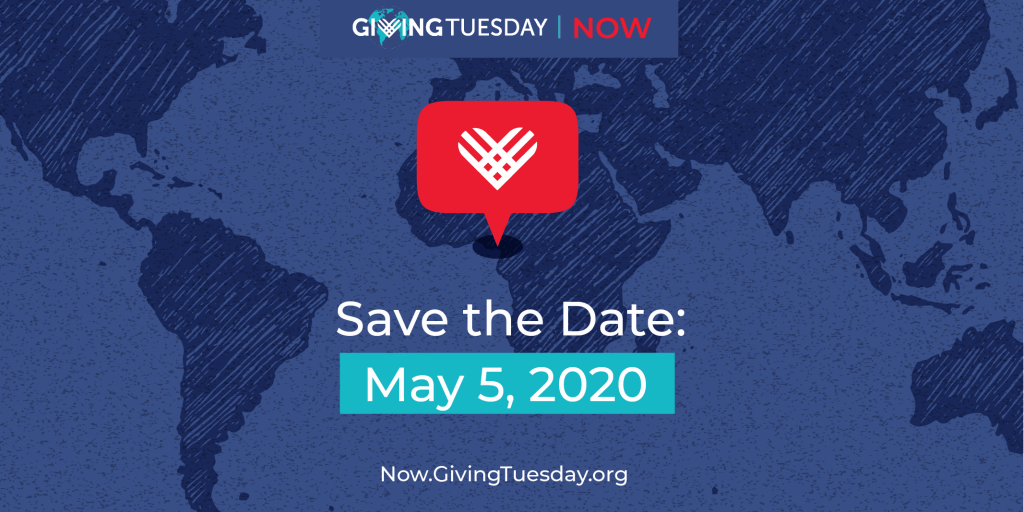 Giving Tuesday - May 5th